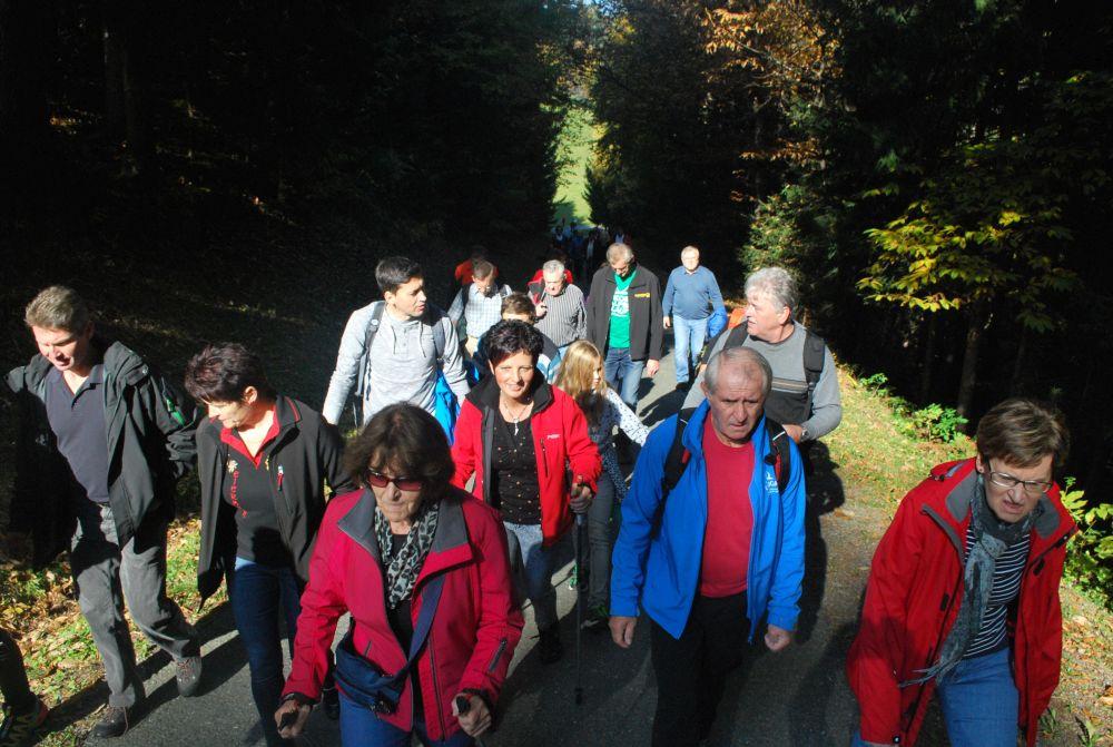 Fotos vom Fitmarsch am 26. Oktober 2015 in St. Oswald ob Eibiswald