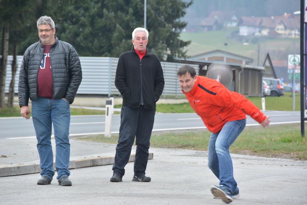 Fotos von der Knödelpartie zwischen SPÖ Eibiswald und GH Gutschy-Polz am 12. März 2016