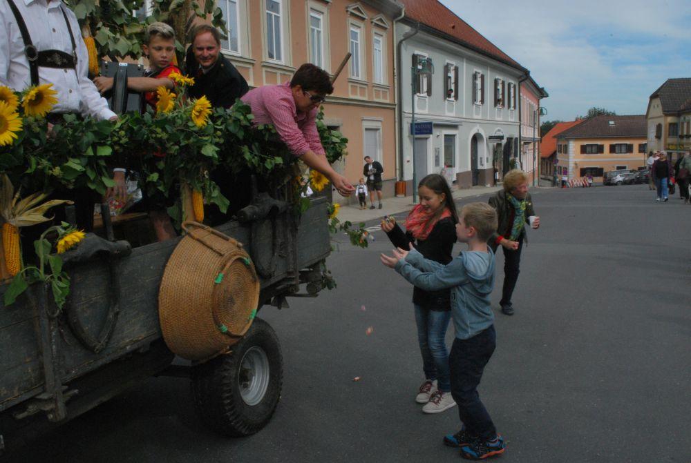 Fotos vom Weinlesefest 2015