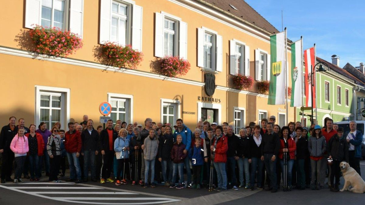 Fitmarsch der SPÖ Eibiswald am 26.10.2017