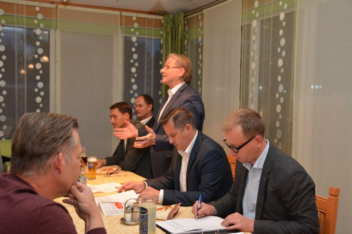 Fotos von der Mitgliederversammlung 2017 am 29. September 2017