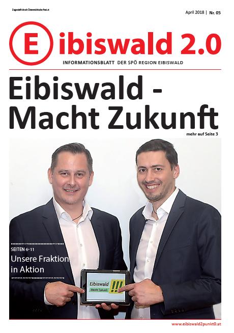 Eibiswald 2.0 - Ausgabe April 2018