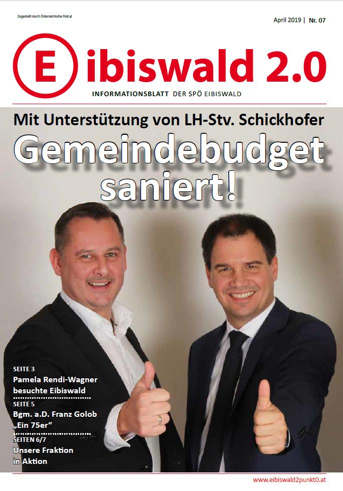 Eibiswald 2.0 - Ausgabe April 2019