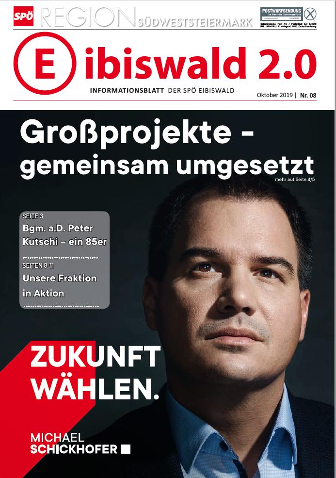 Eibiswald 2.0 - Ausgabe Oktober 2019